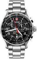 Victorinox Chrono Classic XLS Stainless Steel Chronograph Bracelet Watch