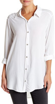 Michael Stars Long Sleeve Button Down Shirt
