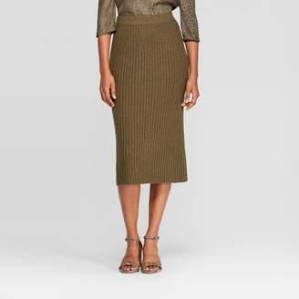 Women's Rib Sweater Skirt - A New DayTM
