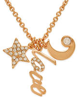 Kate Spade 12k Gold-Plated Love Charm Pendant Necklace