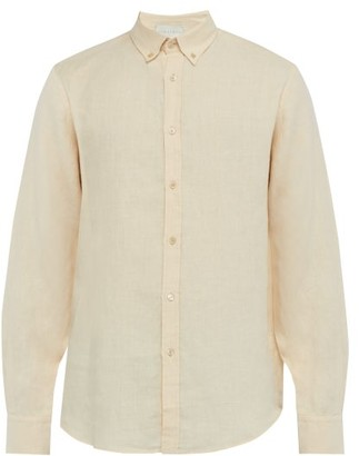 Arjé Arje - The Marlboro Man Linen Shirt - Mens - Cream