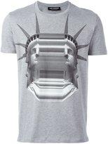 Neil Barrett Statue of Liberty print T-shirt