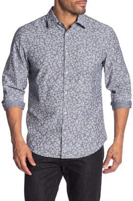 Original Penguin Floral Long Sleeve Heritage Slim Fit Shirt