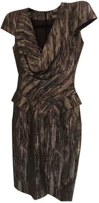Alexander McQueen Silver Cotton Dresses