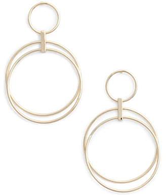 Halogen Multi Ring Hoop Earrings