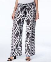 INC International Concepts Printed Soft Pants, Created for Macy's