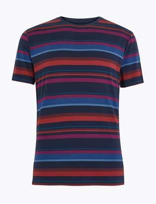 Supima Cotton Supersoft Striped Pyjama Top