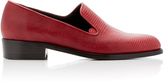 Co Embossed Leather Loafer
