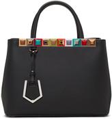 Fendi Black Petite 2Jours Tote Bag