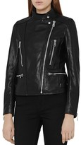 Reiss Erin Leather Jacket