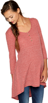 A Pea in the Pod High-low Hem Maternity Tunic