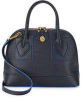 Anne Klein Billie Small Faux Leather Dome Satchel