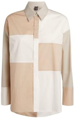 Lorena Antoniazzi Cotton Poplin Patch Shirt