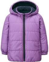 Uniqlo Toddler Body Warm Lite Long Sleeve Hooded Jacket