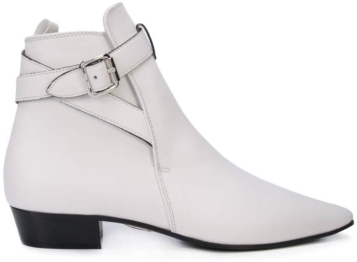 Miu Miu pointed ankle boots