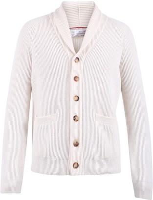 Brunello Cucinelli Ribbed Knit Cardigan