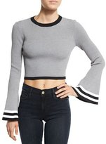 Cameo There Is A Way Striped Crop Top