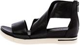 Eileen Fisher Tumbled Black Sport Sandal