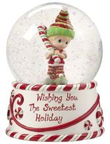 "Precious Moments Wishing You The Sweetest Holiday"" Snow Globe"