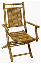 Bamboo54 Bamboo Folding Chairs With Arms