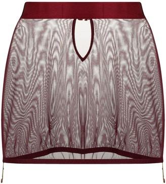 Bordelle Merida mesh skirt