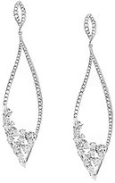 Nadri Calla Cubic Zirconia Drop Earrings