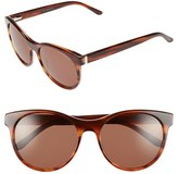 Ted Baker Women's 54Mm Retro Sunglasses - Brown Horn