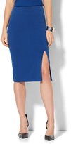 New York & Co. 7th Avenue - Front Slit Pencil Skirt - Modern - Double Stretch