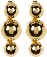 Rebecca Minkoff Three Bead Post Earrings
