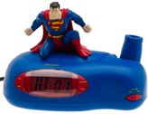 Superman Projection Alarm Clock