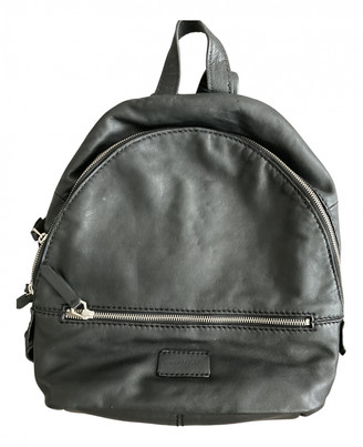 Liebeskind Berlin Black Leather Backpacks