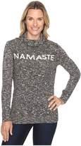 Life is Good Namaste Funnel Neck Sweater