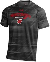 Under Armour Men's Wisconsin Badgers Novelty Tee
