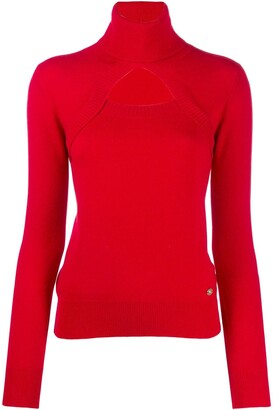 Chanel Pre Owned 2006's Cashmere Cut Out Sweater