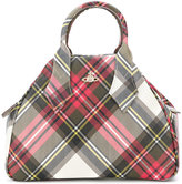 Vivienne Westwood checked clutch bag