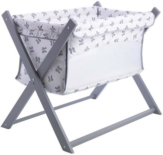 Clair De Lune Rachel Riley Bunny Folding Breathable Crib