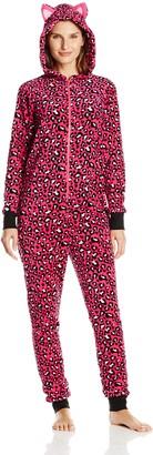 Sleep & Co. Women's Plush Pajama Onesie