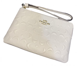 Coach White Exotic leathers Wallets
