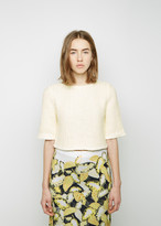 Opening Ceremony Zig Zag Knit Boxy Top
