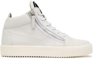Giuseppe Zanotti Leather High-top Sneakers
