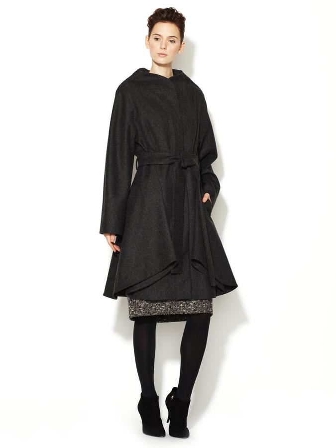 Carolina Herrera Wool Belted Coat