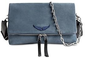 Zadig & Voltaire Rocky Suede Handbag