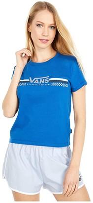 Vans Sporty Baby Tee (True Blue) Women's T Shirt