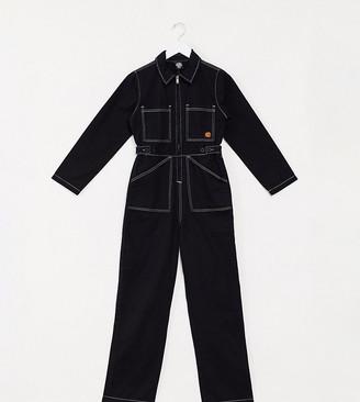 Santa Cruz Trip Boilersuit in black Exclusive at ASOS
