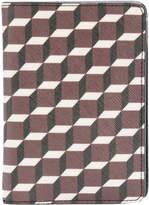 Pierre Hardy geometric print passport holder