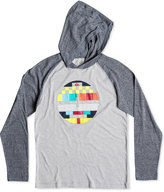 Quiksilver Little Boys' Hooded Long-Sleeve Graphic-Print T-Shirt