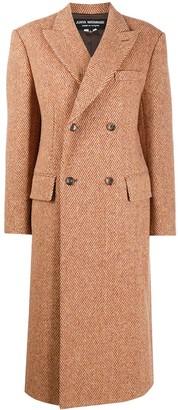 Junya Watanabe Herringbone Pattern Coat