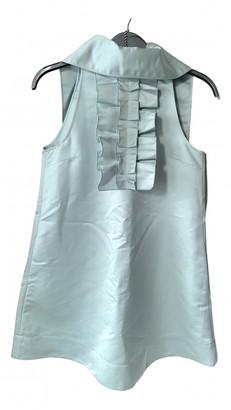 ALEXACHUNG Alexa Chung Green Silk Dresses