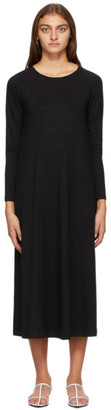 MAX MARA LEISURE Black Ancona Long Sleeve Dress