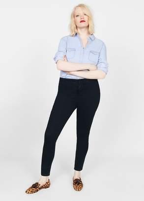 MANGO Tania high waist jeans